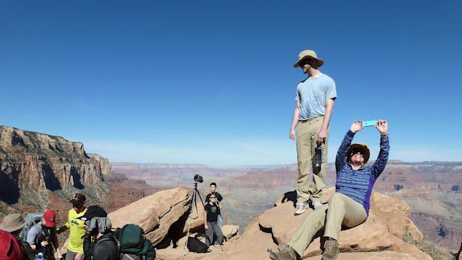 Grand Canyon seeks changes as more visitors use backcountry