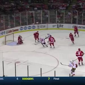 Jimmy Howard Save on Deryk Engelland (04:39/2nd)