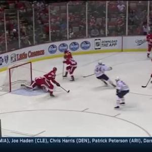 Petr Mrazek Save on Drew Stafford (02:39/2nd)
