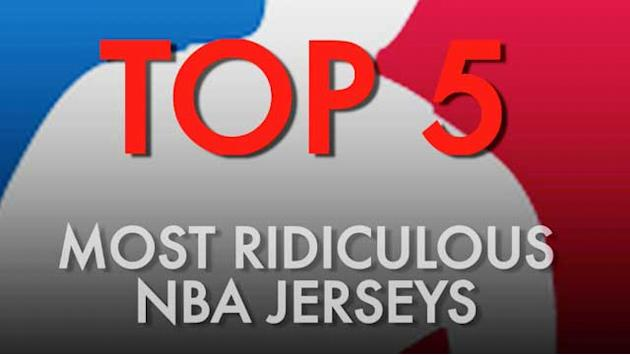 Top 5 ridiculous NBA jerseys