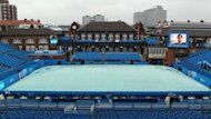 Heavy rain delays at the AEGON Tennis Championships at The Queen's Club, London (PA Sport)