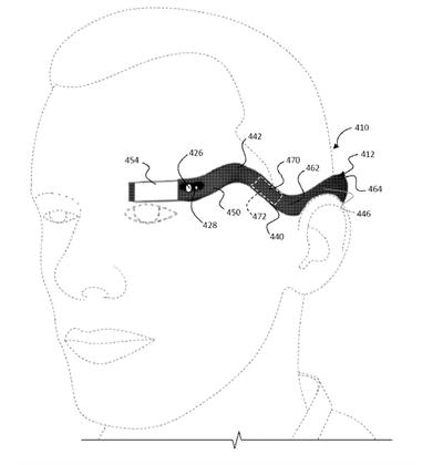 Google Glass could come back as a snake-like flexible headband