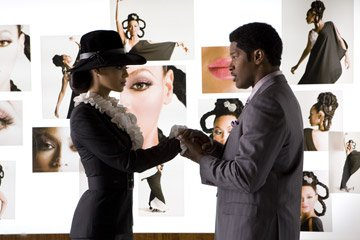 Beyonce Knowles and Jamie Foxx in DreamWorks Pictures' and Paramount Pictures' Dreamgirls