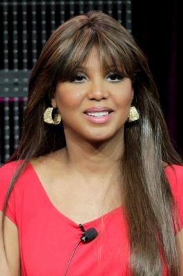 """Toni Braxton speaks during the """"Braxton Family Values"""" panel at the WE TV portion of the 2011 Winter TCA press tour held at the Langham Hotel in Pasadena, Calif. on January 7, 2011  -- Getty Images"""