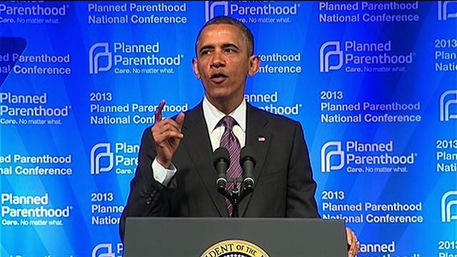 """Obama: """"Planned Parenthood isn't going anywhere"""""""