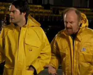 Saturday Night Live First Look: Host Louis C.K. Tackles Hurricane Sandy in New Promo