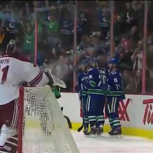 Brad Richardson Goal on Mike Smith (01:41/2nd)