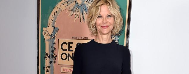 Meg Ryan stuns in rare appearance