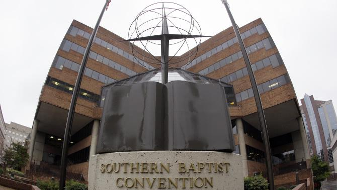 "FILE - In this Dec. 7, 2011 file photo, the headquarters of the Southern Baptist Convention is shown in Nashville, Tenn. The nation's largest protestant denomination will definitely remain ""Baptist,"" but leaders are thinking about whether it will be ""Southern"" for much longer. Southern Baptist Convention President Bryant Wright was expected to present the recommendation of a task force assigned to study a name change to the denomination's executive committee at a meeting Monday night, Feb. 20, 2012. (AP Photo/Mark Humphrey, File)"