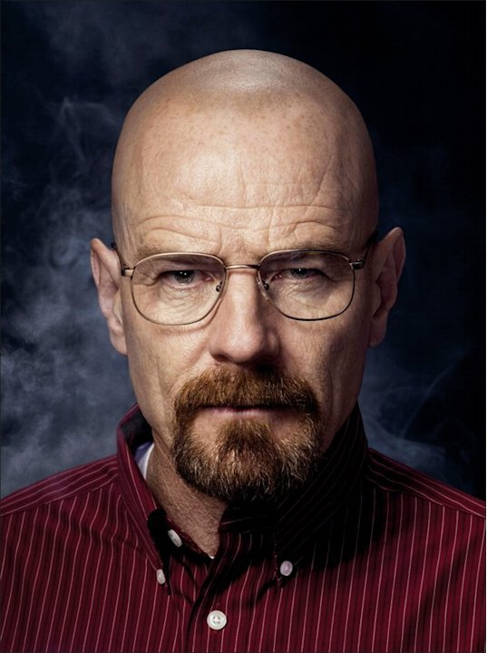 "Cranston as Walt White on AMC's ""Breaking Bad."" He has won three consecutive Outstanding Lead Actor in a Drama Series Emmy Awards. (Photo by Ben Leuner, AMC)"