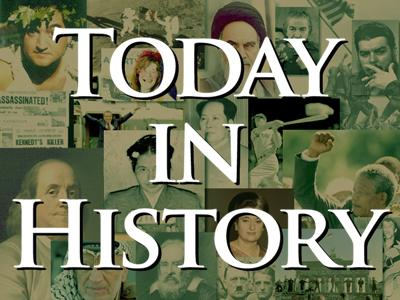 Today in History for October 11th