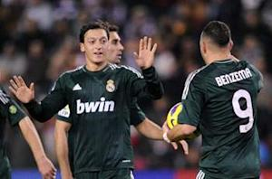 Valladolid 2-3 Real Madrid: Awesome Ozil spares Blancos' blushes