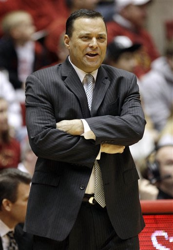 Texas Tech coach Billy Gillispie hospitalized