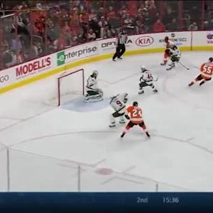 Darcy Kuemper Save on Wayne Simmonds (04:02/1st)