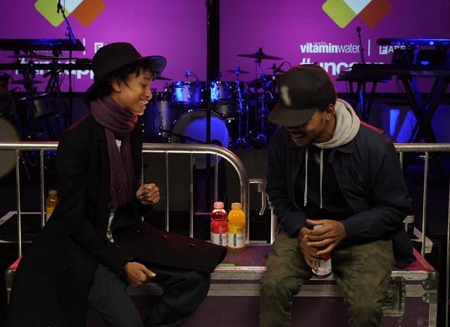 Watch Chance The Rapper & Willow Smith Interview Each Other