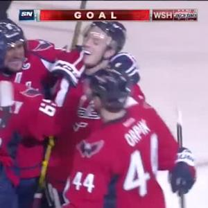 Nicklas Backstrom Goal on Viktor Fasth (06:38/3rd)