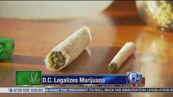 DC leaders legalize pot despite threats from Congress