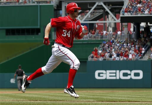 Hanson, Braves beat Nationals 3-2