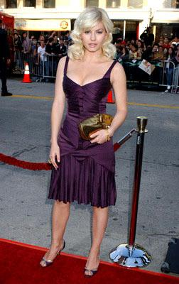 Elisha Cuthbert at the Westwood premiere of Warner Bros. Pictures' House of Wax