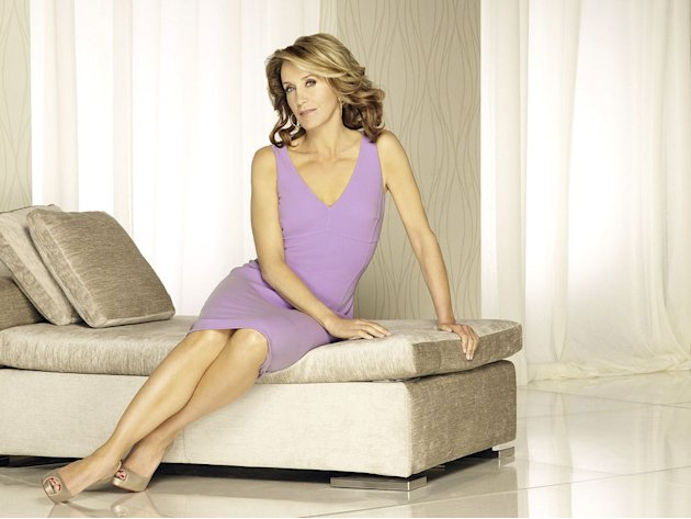"Felicity Huffman stars as Lynette Scavo in ""Desperate Housewives."""