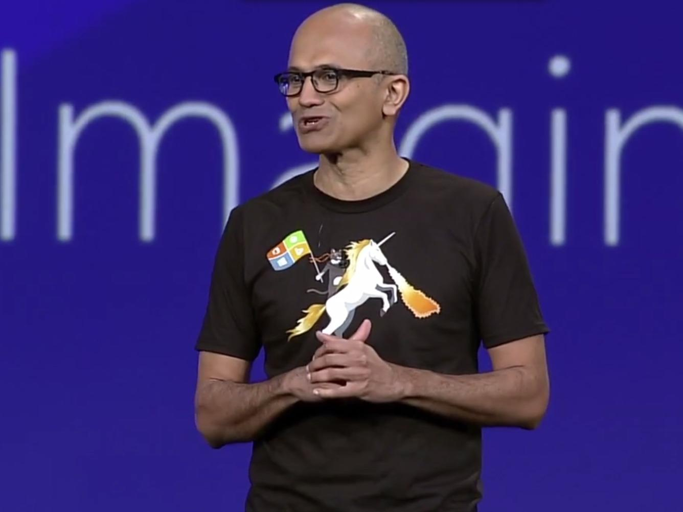Microsoft CEO Satya Nadella's genius plan: to swap one monopoly for another