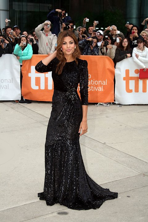 35th Annual Toronto Film Festival 2010 Eva Mendes