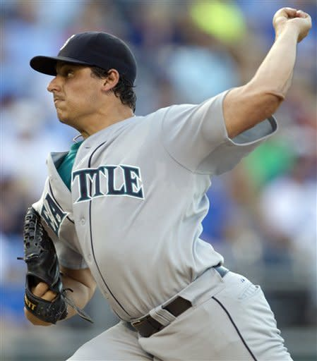 Mariners pound Sanchez, Royals in 9-4 victory