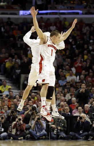 Wisconsin beats Michigan 68-59 in B10 tournament