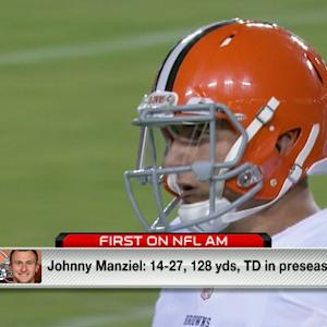 Judy Battista: 'Cleveland Browns QB Johnny Manziel just isn't ready'