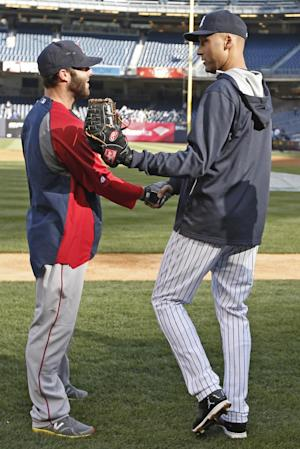 Pedroia (wrist) scratched from Red Sox lineup