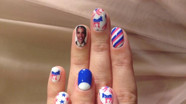 Katy Perry elections fingernails
