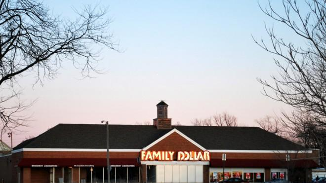Discount chain Family Dollar has seen better days.