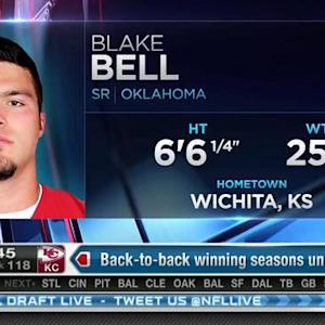 San Francisco 49ers pick tight end Blake Bell No. 117 in 2015 NFL Draft
