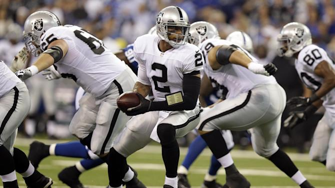 Pryor ready to make first home start for Raiders