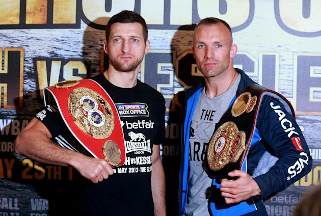 Carl Froch v Mikkel Kessler Press Conference