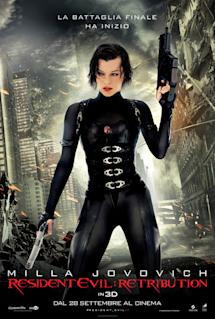 Poster di Resident Evil: Retribution
