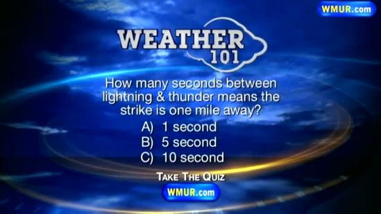 Weather 101: How do you measure the distance from a lightning strike?