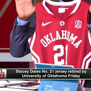 Stacey Dales number retired at University of Oklahoma