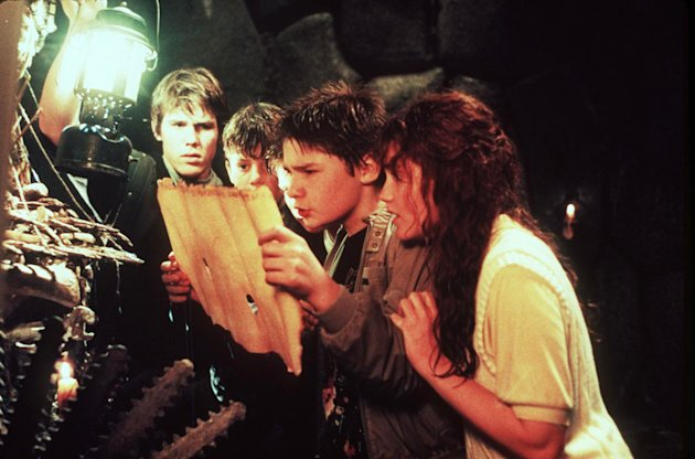 Josh Brolin Sean Astin Corey Feldman Kerri Lee Green The Goonies Production Stills Warner Bros. 1985