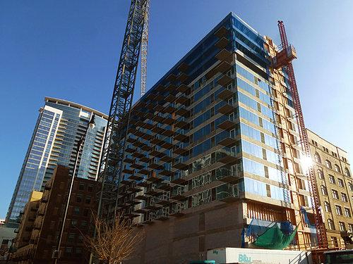 Construction Watch: The South Loop's First New Condo Tower in Years Making Way