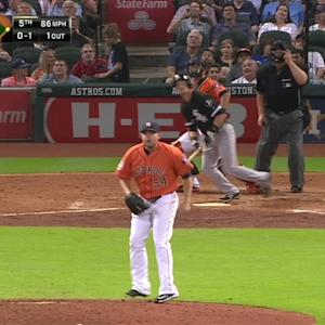Beckham gives White Sox the lead