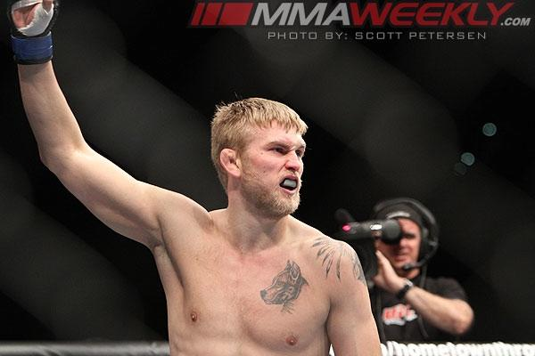 Alexander Gustafsson Can Get Another Shot at Jon Jones… If He Gets Past Rogerio Nogueira