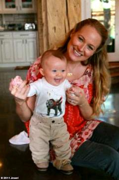 PIC: Meet Jewel's Son Kase, 4 Months!