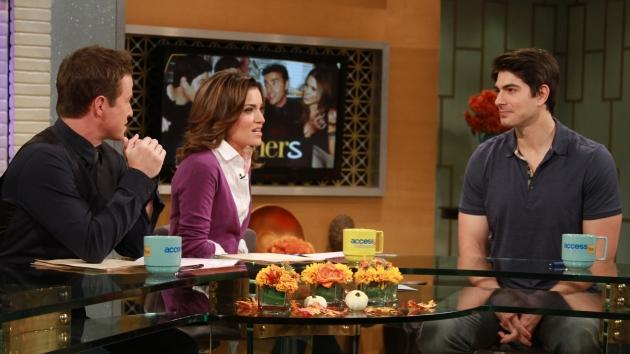 Brandon Routh on the set of Access Hollywood Live on October 19, 2012.  -- Access Hollywood