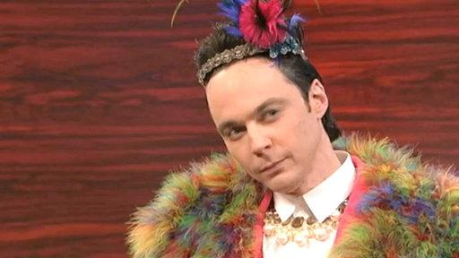 Jim Parsons Spoofs Johnny Weir