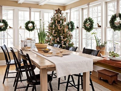 Holiday Décor in a Connecticut Home