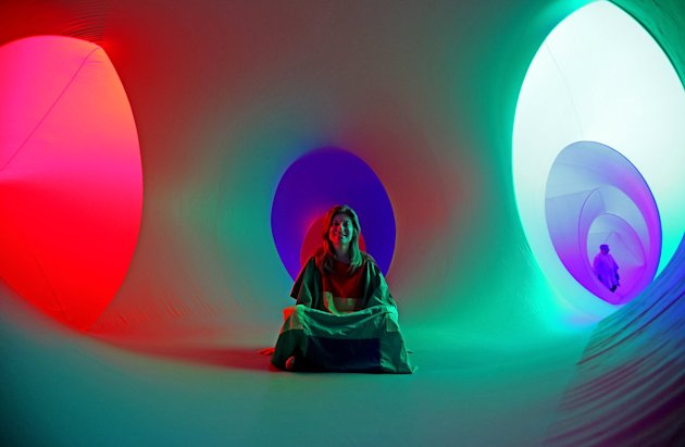 Colourscape Sculpture Opens At The Holburne Museum