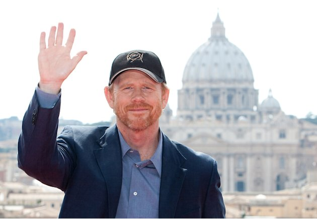 Angels and Demons Rome Premiere 2009 Ron Howard