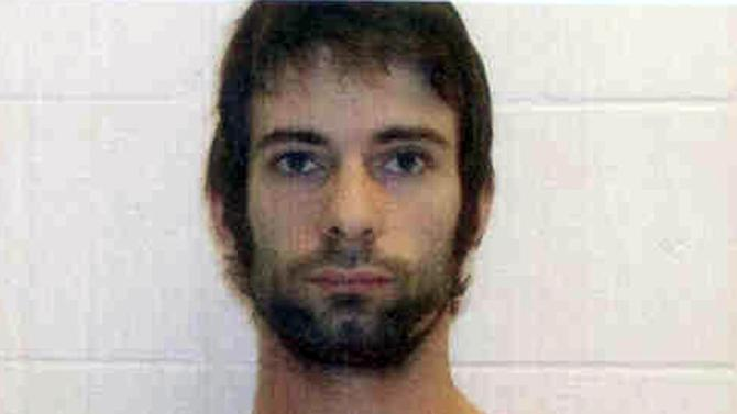"""This photo provided by the Erath County Sheriff's Office shows Eddie Ray Routh. He was charged with murder in connection with a shooting at a central Texas gun range that killed former Navy SEAL and """"American Sniper"""" author Chris Kyle and  Chad Littlefield, the Texas Department of Public Safety said Sunday, Feb. 3, 2013. (AP Photo/ Erath County Sheriff's Office)"""