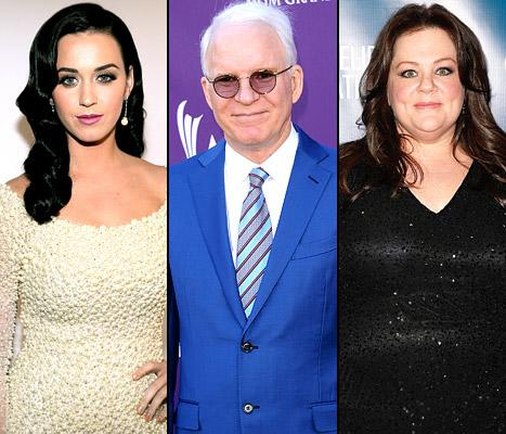 "Katy Perry ""Doesn't Approve"" of Rihanna's Relationship With Chris Brown, Steve Martin, 67, Becomes First-Time Dad: Top 5 Stories of Today"
